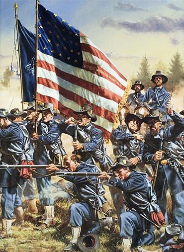 6th Wisconsin at Gettysburg