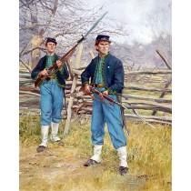 69th Pennsylvania Irish Volunteer Infantry - Companies I & K Baker Guard Zouaves 1861-1862