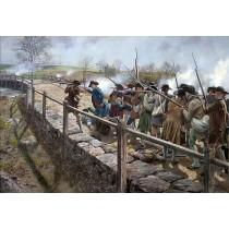 Concord Bridge the Nineteenth of April, 1775