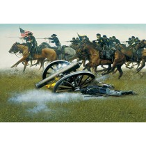 Custer's Gallant Cavalry Charge at Gettysburg