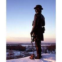 Gen. Warren, Little Round Top, Gettysburg