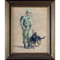 Vietnam Dog Handler